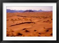 Framed Namibia Desert, Sossusvlei Dunes, Aerial