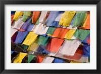 Framed Prayer Flags at Dochu La, Bhutan