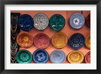 Framed Pottery, Traditional craft, Marrakech, Morocco