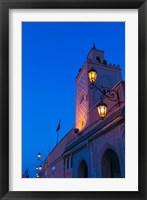 Framed Mosque, Place Jemaa El Fna, Marrakesh, Morocco