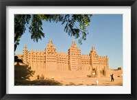 Framed Mosque at Djenne, Mali, West Africa