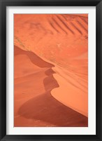 Framed Namibia, Sossusvlei. Namib-Naukluft Desert