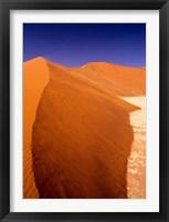 Framed Namibia Desert, Sossusvlei Dunes, desert landscape