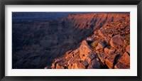 Framed Namibia, Fish River Canyon National Park, canyon walls