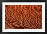 Framed Sand dune patterns,  Namibia