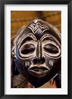 Framed South Africa, Durban, Zulu tribe mask