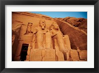 Framed Statues, The Greater Temple, Abu Simbel, Egypt