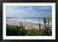 Framed Stretches of Beach, Jeffrey's Bay, South Africa