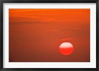 Framed Sunset, Serengeti National Park, Tanzania