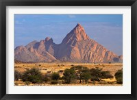 Framed Spitzkoppe (1784 meters), Namibia