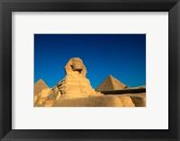 Framed Sphinx, Pyramids at Giza, Egypt