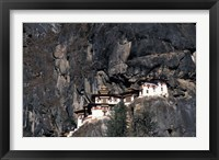 Framed Taksang Monastery, Bhutan