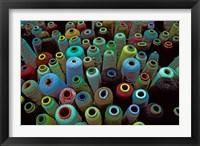 Framed Spools of Yarn, China