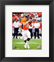 Framed Peyton Manning 2014 Running