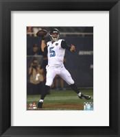 Framed Blake Bortles 2014 football