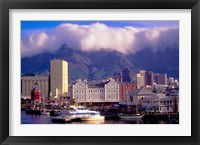 Framed Victoria and Alfred Waterfront, Cape Town, South Africa