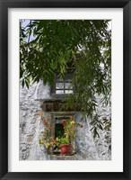 Framed Window Decoration in Sera Temple, Lhasa, Tibet, China