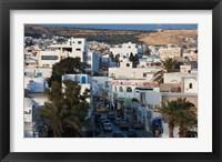 Framed Tunisia, Cap Bon, Hammamet, Avenue de la Republique