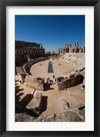 Framed Colosseum, Tunisia