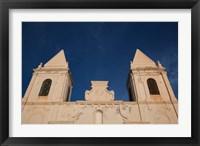 Framed Tunisia, Jerba Island, Houmt Souq, Christian church