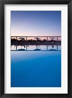 Framed Tunisia, Jerid Area, Tozeur, Hotel El Mouradi Pool