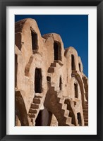 Framed Fortified ksar building, Tunisia