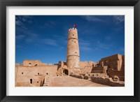 Framed Tunisia, Monastery, Ribat, 8th century, courtyard