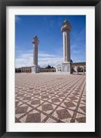Framed Tunisia, Monastir, Mausoleum of Habib Bourguiba