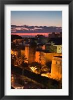 Framed Tunisia, Sfax, Medina along Avenue Ali Belhouane