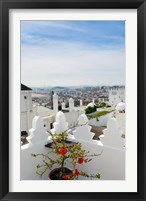 Framed View of Tangier, Morocco