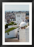Framed View of Tangier from the Medina, Tangier, Morocco