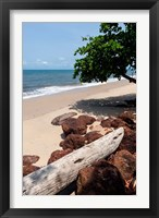 Framed View of the ocean on the Gulf of Guinea, Libreville, Gabon