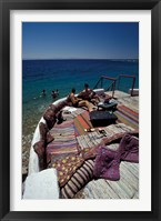 Framed Village Cafe and Terrace on the Red Sea, Egypt