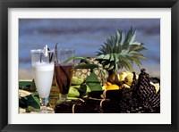Framed Tropical Breakfast, Madagascar