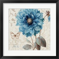 A Blue Note II Framed Print