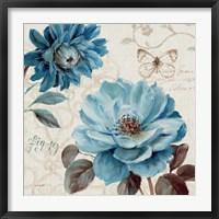 Framed Blue Note III