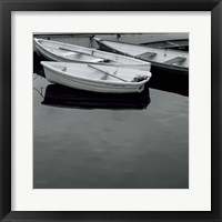 Framed Jumble of Boats Crop
