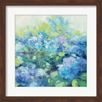 Framed Bright Hydrangea II