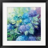 Framed Bright Hydrangea III
