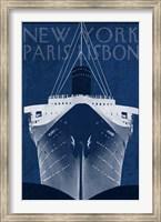 Framed Passage Atlantique Blueprint