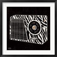 Framed Analog Jungle Radio