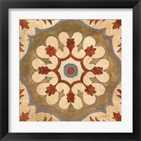 Framed Andalucia Tiles C Color