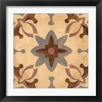 Andalucia Tiles D Color Framed Print
