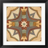 Framed Andalucia Tiles E Color