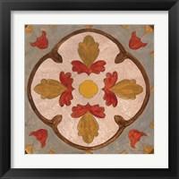 Framed Andalucia Tiles F Color