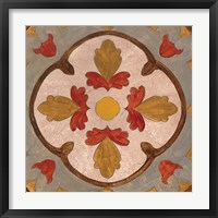 Framed Andalucia Tiles F Color