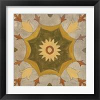 Framed Andalucia Tiles G Color