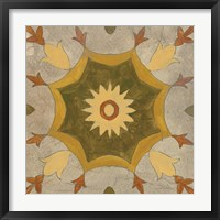 Framed Andalucia Tiles G Color