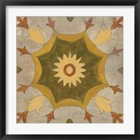 Andalucia Tiles G Color Framed Print