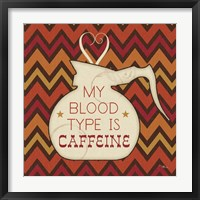 Caffeine I Framed Print